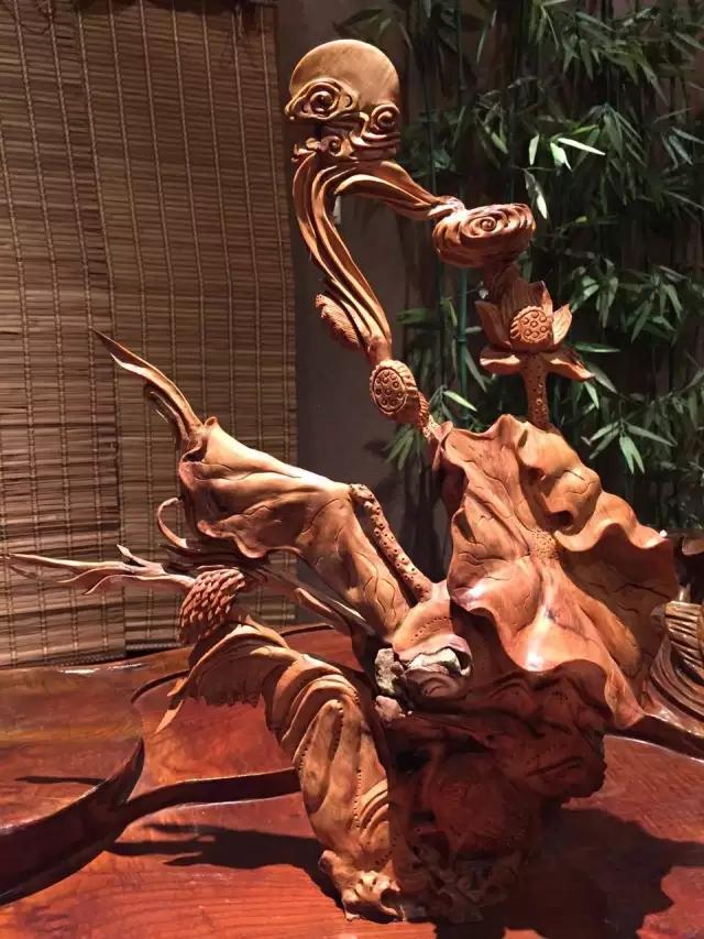 根雕艺术中的奢侈品——崖柏根艺