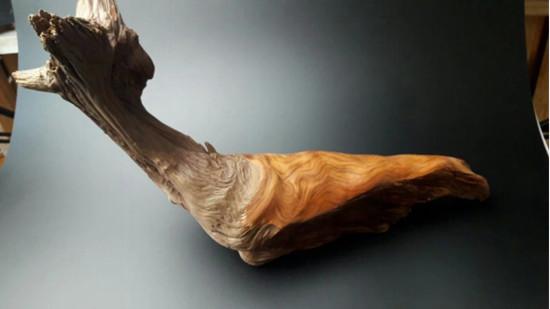 妖木出品:摆件的做光和保留纹路两种打磨方法