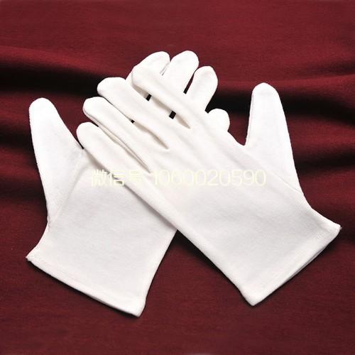 棉布白手套(或者鹿皮绒手套)