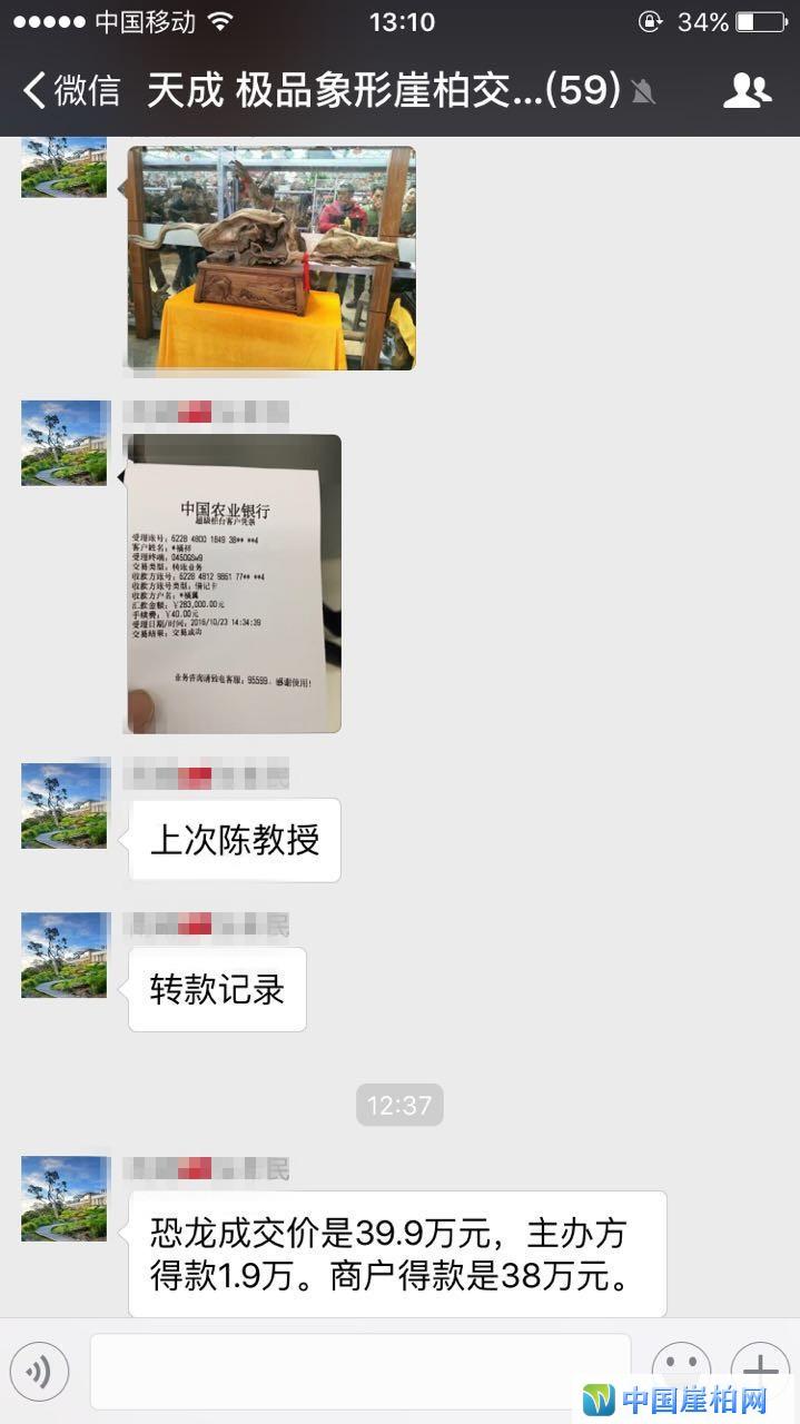 极品象型料38万成交,再次刷新崖柏展会成交记录!