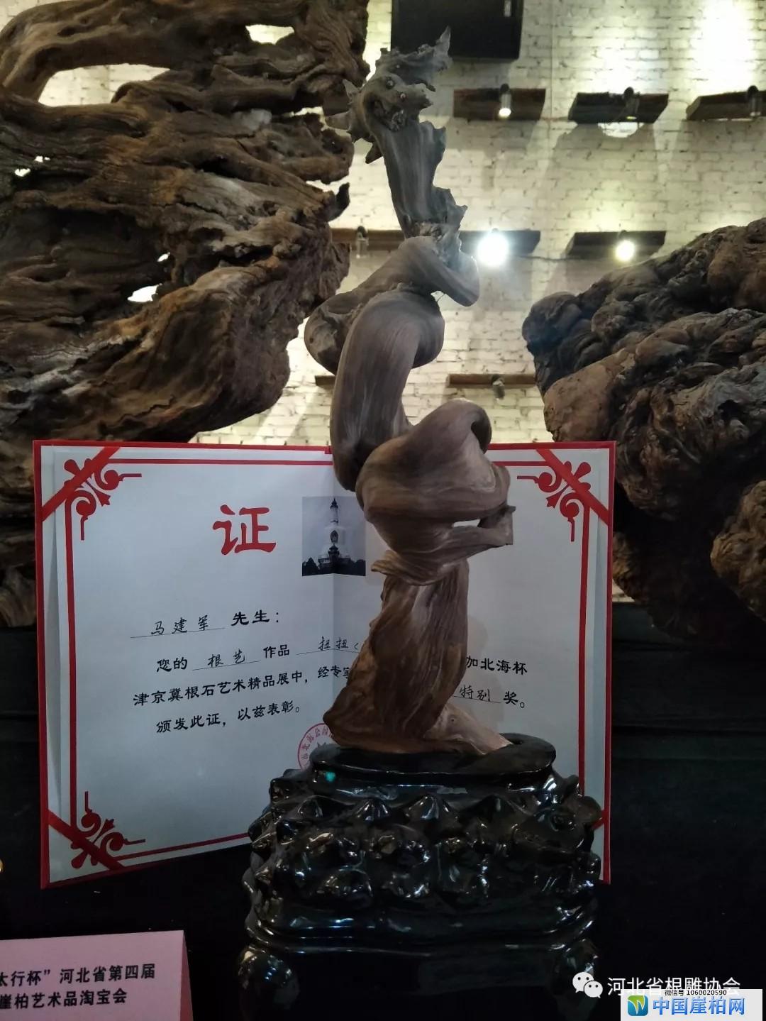 河北第四届崖柏淘宝会精品展示区