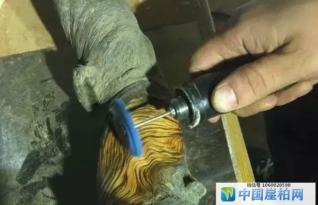 如何打磨出漂亮的崖柏纹理