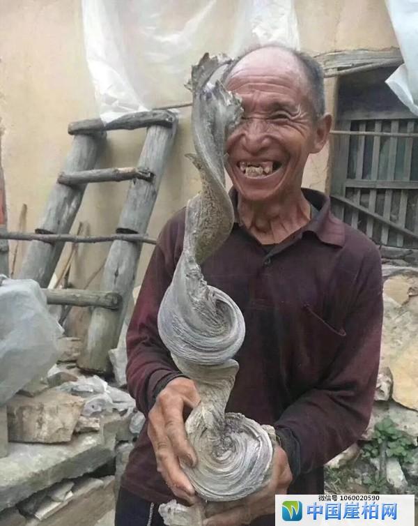 玩崖柏的快乐:流露在柏农脸上的笑容
