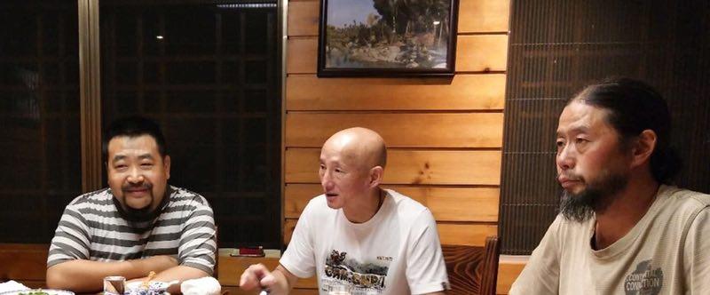 崖柏狂人:开化之行,有缘拜会根艺大师胡月亭与徐谷青有感
