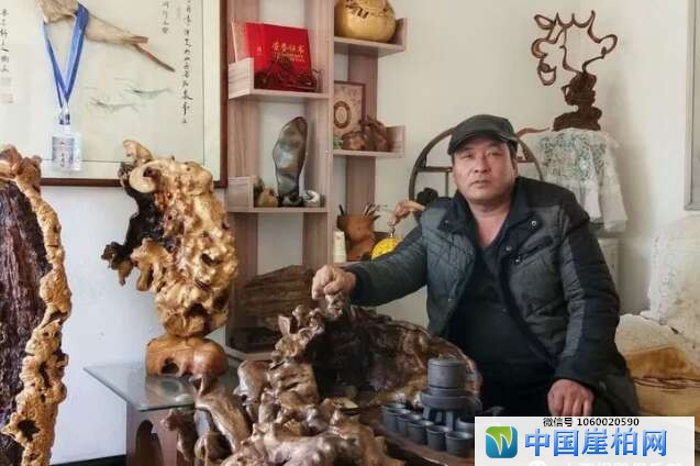 山西根雕工艺美术师:张永红