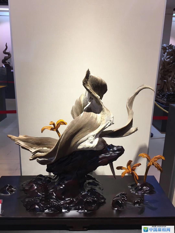 第二届中国根雕收藏家藏品展上的精品崖柏