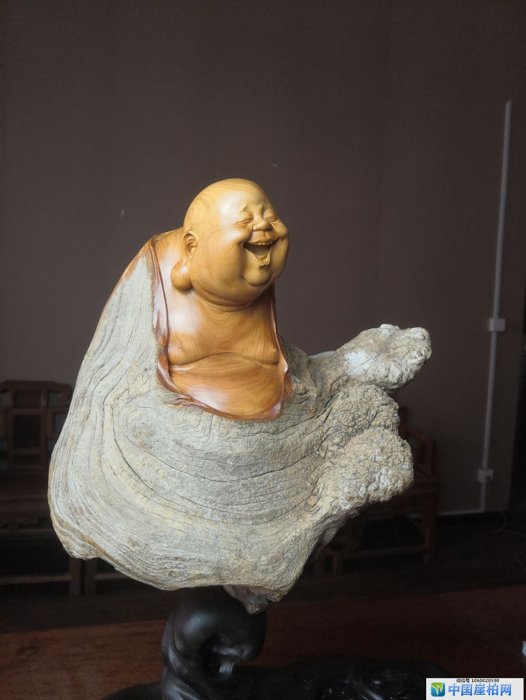 中国崖柏收藏鉴赏·  夜访周扬大师