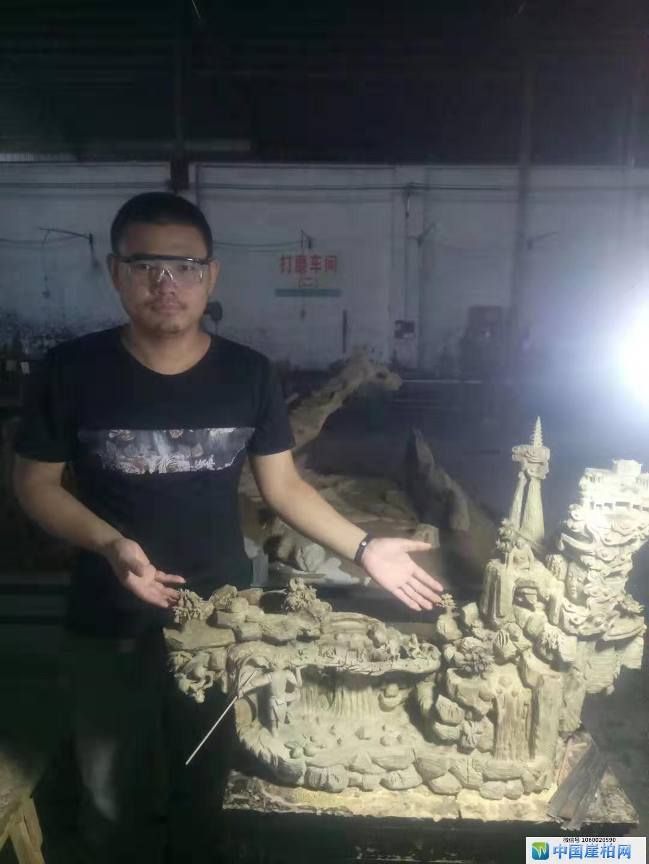 高唐木雕师洪福禄,身处无声世界里雕刻艺术梦想