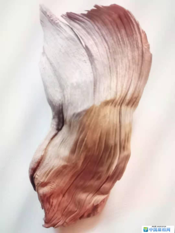 《柏韵》 崖柏作品 高32厘米    重625克