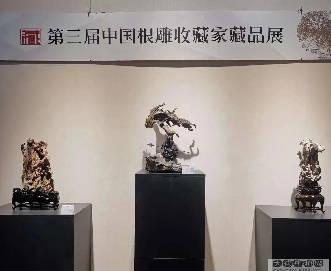 石家庄市博物馆藏品展展厅一角